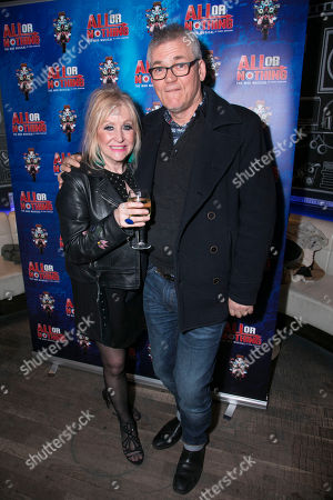 Carol Harrison (Author/Kay Marriott) and Mike Barson
