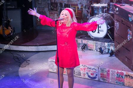 Carol Harrison (Author/Kay Marriott) during the curtain call