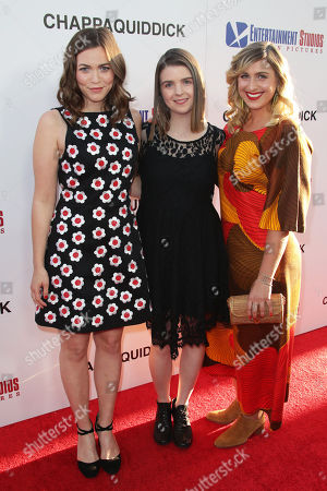 Stock Image of Lexie Roth, Katie Henoch and Gillian Gordon