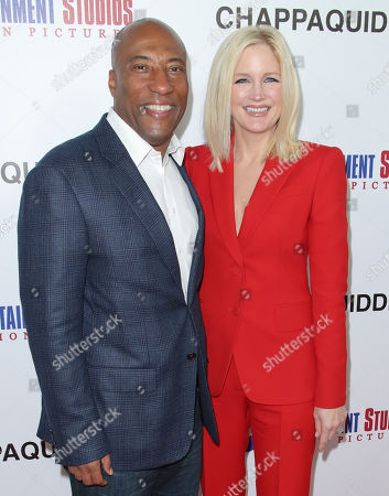 Byron Allen and Jennifer Lucas