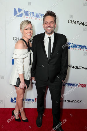 Stock Picture of Kathleen Robertson, Chris Cowles, Producer,