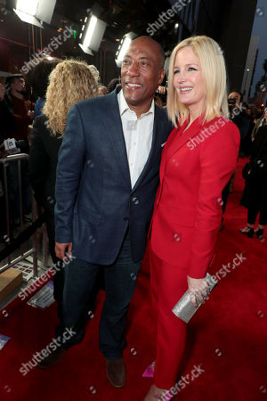 Byron Allen, Founder and CEO, Entertainment Studios, Jennifer Lucas, Executive Producer,