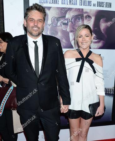 Kathleen Robertson and Chris Cowles