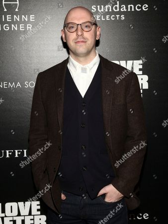 "Stock Photo of Russell Harbaugh attends a special screening of ""Love After Love"" at Roxy Cinema Tribeca, in New York"