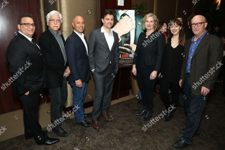 Stock Image of Dan David (Subject), Tom Hurwitz (Cinemtographer), Richard Perello (Executive Prodcuer), Jed Rothstein (Director), Stacey Offman (Executive Producer), Erin Edeiken (Producer), Alex Gibney (Executive Producer)