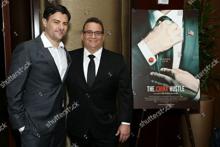 Editorial image of NYC Special Screening of Magnolia Pictures' 'The China Hustle' - 28 Mar 2018