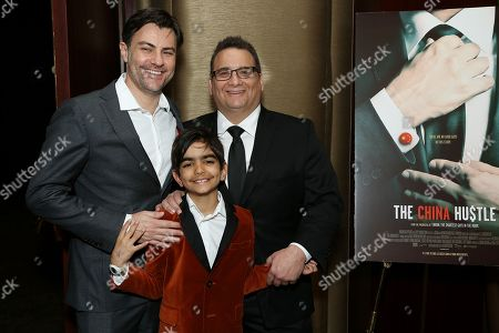 Stock Image of Jed Rothstein (Director) with Son, Dan David (Subject)