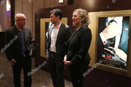 Stock Picture of Alex Gibney (Executive Producer), Jed Rothstein (Director), Stacey Offman (Executive Producer)