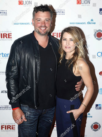 Tom Welling, Jessica Rose Lee. Tom Welling, left, and Jessica Rose Lee arrives at the 5th Annual California Fire Foundation Gala on in Los Angeles