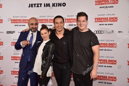 Özgür Karadeniz, Josefine Preuss, Bülent Ceylan, Chris Tall