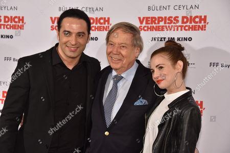 Bülent Ceylan, Helmut Brunotte and Schauspielerin Josefine Preuss
