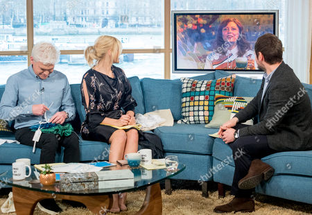 Phillip Schofield and Holly Willoughby with Gordon Smart