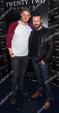 Stock Image of Alexander Ludwig and Peter Franzen