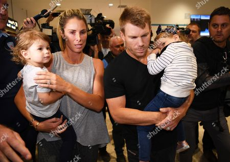 David Warner and Candice Warner
