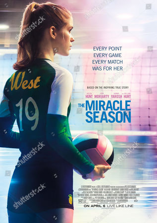 The Miracle Season (2018) Poster Art. Erin Moriarty