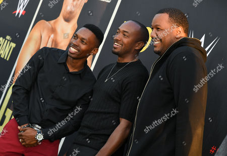 Melvin Jackson Jr., Brandon Fox and Travon Free