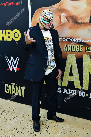 Editorial image of 'Andre The Giant' film premiere, Arrivals, Los Angeles, USA - 29 Mar 2018