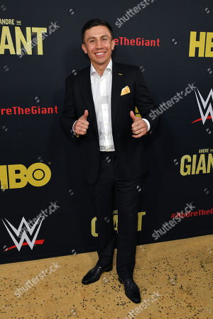 Stock Image of 'Triple G' Gennady Golovkin