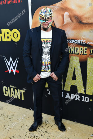 Editorial photo of 'Andre The Giant' film premiere, Arrivals, Los Angeles, USA - 29 Mar 2018