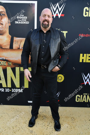Editorial picture of 'Andre The Giant' film premiere, Arrivals, Los Angeles, USA - 29 Mar 2018