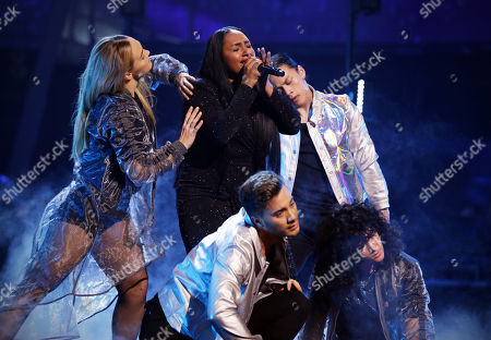 Editorial picture of 'The Voice UK' TV Show, Series 7, Episode 13, London, UK  - 31 Mar 2018
