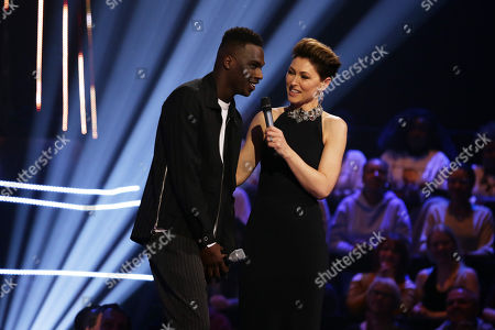 Mo Jamil, guest performer with Emma Willis
