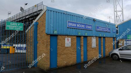 Editorial picture of Gillingham v MK Dons, Sky Bet EFL League 1, Football, the MEMS Priestfield Stadium, Gillingham, Kent, United Kingdom - 29 Mar 2018