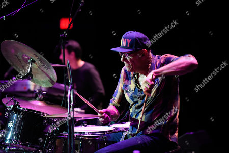 Stock Picture of Liberty Devitto of The Lords of 52nd Street performs at the Duncan Theatre on in Lake Worth, Fla