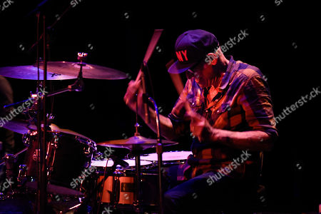 Liberty Devitto of The Lords of 52nd Street performs at the Duncan Theatre on in Lake Worth, Fla