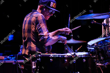 Stock Photo of Liberty Devitto of The Lords of 52nd Street performs at the Duncan Theatre on in Lake Worth, Fla