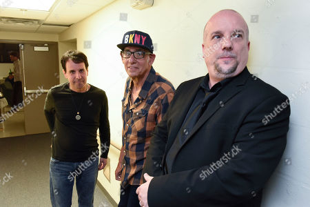 Doug Kistner, Liberty Devitto, David Clark. Doug Kistner from left, Liberty Devitto, and David Clark, of The Lords of 52nd Street backstage before their performance at the Duncan Theatre on in Lake Worth, Fla