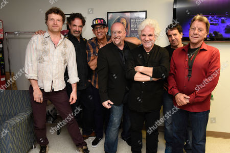 Malcolm Gold, Dennis Delgaudio, Liberty Devitto, David Clark, Russell Javors, Doug Kistner, Richie Cannata. Malcolm Gold, from left, Dennis Delgaudio, Liberty Devitto, David Clark, Russell Javors, Doug Kistner and Richie Cannata of The Lords of 52nd Street backstage before their performance at the Duncan Theatre on in Lake Worth, Fla