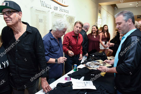 Liberty Devitto, Russell Javor, Richie Cannata, David Clark. Liberty Devitto, from left, Russell Javors, Richie Cannata, David Clark of The Lords of 52nd Street at their meet and greet after performing at the Duncan Theatre on in Lake Worth, Fla
