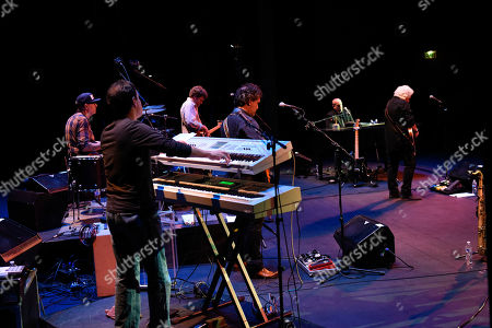 Doug Kistner, Liberty Devitto, Malcolm Gold, Dennis Delgaudio, David Clark, Russell Javors. Doug Kistner, from left, Liberty Devitto, Malcolm Gold, Dennis Delgaudio, David Clark and Russell Javors, of The Lords of 52nd Street perform at the Duncan Theatre on in Lake Worth, Fla
