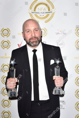 Stock Picture of Johnny Harris, Best Breakthrough Performance 'Jawbone'