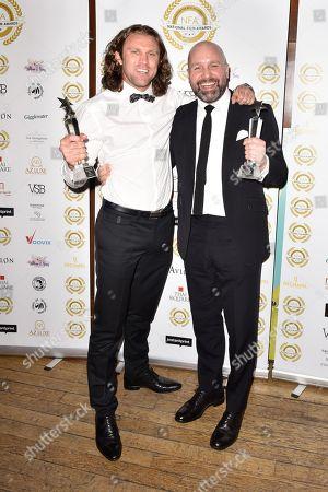 Best Action - 'Jawbone' Johnny Harris (r)