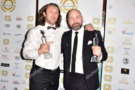 Stock Photo of Best Action - 'Jawbone' Johnny Harris (r)