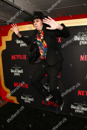 """Matty Cardarople attends Netflix's """"A Series of Unfortunate Events"""" season two premiere at Metrograph, in New York"""
