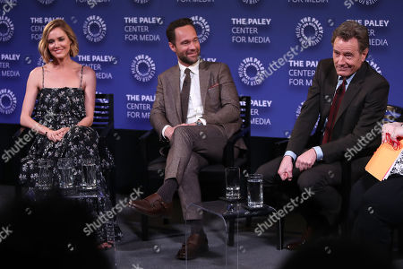 Erinn Hayes, Chris Diamantopoulos and Bryan Cranston