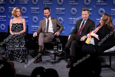 Erinn Hayes, Chris Diamantopoulos, Bryan Cranston and Kimberly Potts