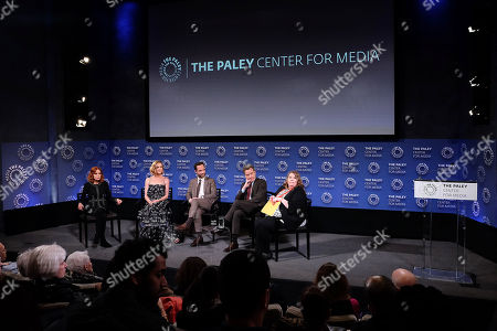 Editorial picture of PaleyLive NY Presents - An Evening with Bryan Cranston and 'Dangerous Book for Boys', USA - 29 Mar 2018