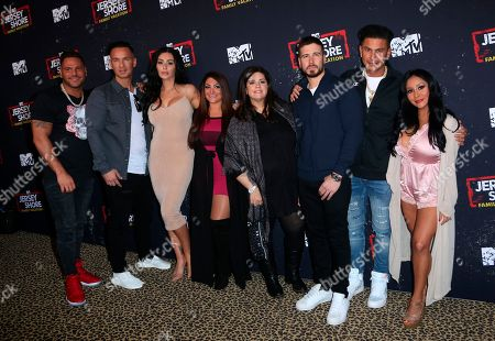 """Editorial image of LA Premiere of """"Jersey Shore Family Vacation"""", Los Angeles, USA - 29 Mar 2018"""