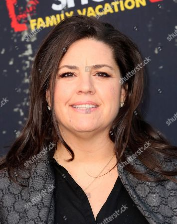 """SallyAnn Salsano arrives at the LA Premiere of """"Jersey Shore Family Vacation"""" on Thursday, March 29, in Los Angeles"""