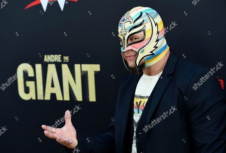 """Editorial picture of LA Premiere of """"Andre the Giant"""", Los Angeles, USA - 29 Mar 2018"""