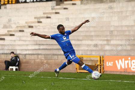 Editorial image of Port Vale v Chesterfield, Skybet EFL League Two, Vale Park, Stoke-on-Trent, UK - 30 Mar 2018