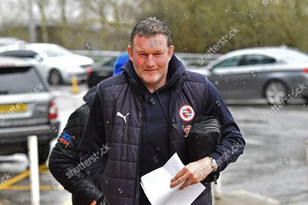 Stock Picture of Reading goalkeeping coach Dave Beasant arriving at the Madejski Stadium before the EFL Sky Bet Championship match between Reading and Queens Park Rangers at the Madejski Stadium, Reading. Picture by Graham Hunt