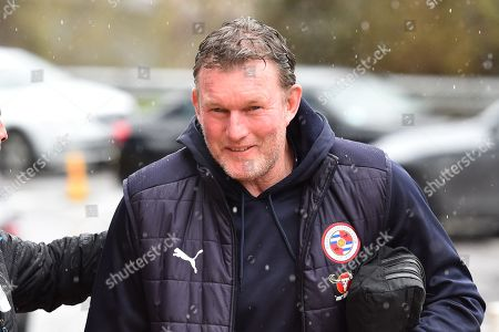 Stock Image of Reading goalkeeping coach Dave Beasant arriving at the Madejski Stadium before the EFL Sky Bet Championship match between Reading and Queens Park Rangers at the Madejski Stadium, Reading. Picture by Graham Hunt