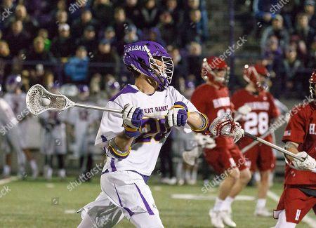 Albany, NY, U.S. - UAlbany Men's Lacrosse defeats Harvard 14-6 on  at Casey Stadium. Noah Taylor (#20)