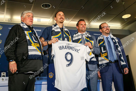 Editorial picture of MLS Galaxy Ibrahimovic Soccer, Carson, USA - 30 Mar 2018