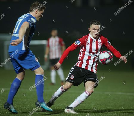 Editorial picture of SSE Airtricity League Premier Division, Brandywell Stadium, Derry  - 30 Mar 2018